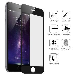 Película Especial de Vidro Temperado - Iphone 7 Plus - Full Screen - 3 Cores