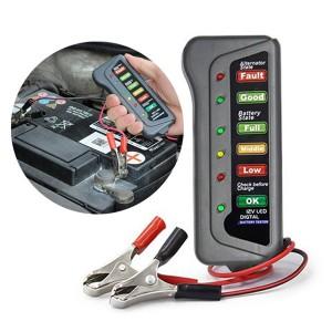 Verificador de Bateria e Alternador Digital LED 12V