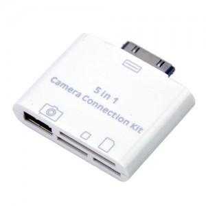 Kit conexão 5 em 1 para Ipad