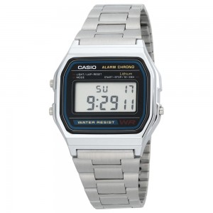 Relógio Casio Retro - Prateado