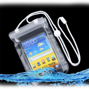 """Bolsa a Prova Agua para Smartphone até 5"""""""