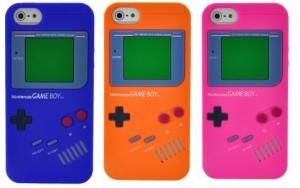 Capa de Silicone Game Boy para Iphone 4 4s - LUCKCASE