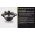 Set Panela de Pressão Alumínio e Titânio Anti-Aderente - 6 Peças